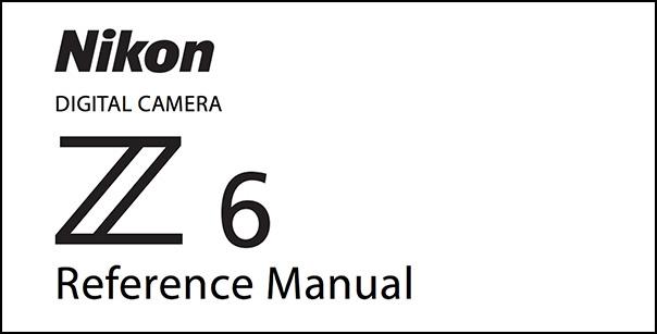 Nikon Z7 Manual